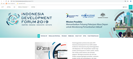 Photo of Indonesia Development Forum (IDF) ke-3